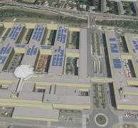 3D-Animation der Abt. Vermessung/Magistrat Klagenfurt